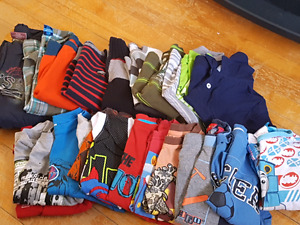 boys clothes ranging in size of 4t -5t **