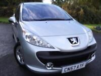 2008 57 PEUGEOT 207 1.4 S 5D 94 BHP ** 1 OWNER FROM NEW !!!!! **
