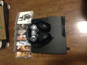 PS3/Headset with popular games