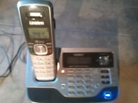 Uniden cordless house phone and answering machine