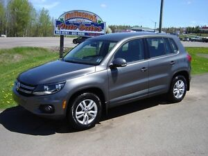 2013 VOLKSWAGON TIGUAN***4 MOTION***59000KM***WARRANTY***