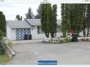 Kelowna rancher for rent March 1