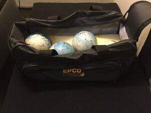 Bowling ball set with EPCO carrying bag $50 Firm