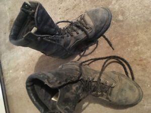 Steel toe leather/Kevlar boots 10 1/2