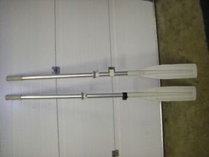 ALUMINUM OARS FOR ZODIAC OR DINGY