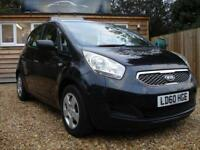 KIA VENGA 1 2010 Petrol Manual in Black