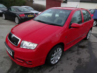 SKODA FABIA VRS 1.9 TDi 130~07/2007~5 DOOR HATCHBACK~6 SPEED MANUAL~STUNNING~92k