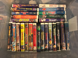 LOT OF 50 DISNEY/OTHER VHS TAPES EXCELLENT CONDITION