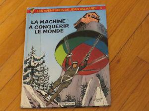 BD./JEAN VALHARDI TOME 6  1982/ LITTÉRATURE AUTEUR vintag