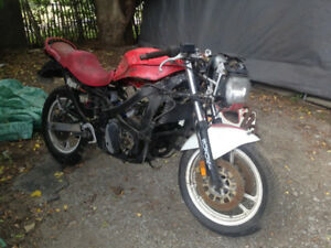1988 Katana 600 whole bike for parts only