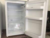 Indesit white under counter fridge