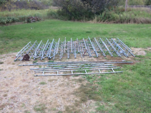 FOR SALE:        TV / INTERNET ANTENNA TOWER SECTIONS & MASTS