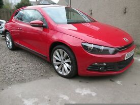 Volkswagen Scirocco 2.0 TSI GT - WITH 7 SERVICE STAMPS - (red) 2008