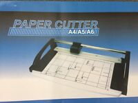 Paper cutter - new in box
