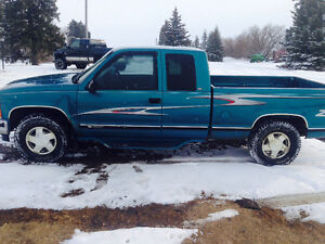 97 chev 4x4 trade for xp with blown engine