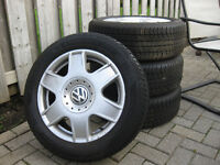 205/55 r16 vw tires and rims