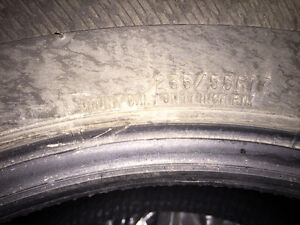 Snow Tires- Used One Winter- 1 year old London Ontario image 2