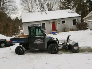 2015 polaris brutus HD PTO side by side