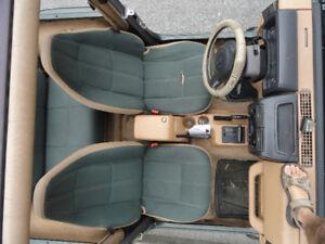 3 Siege Jeep TJ tres tres Propre TJ 97A2006 $ 300 vert foret