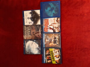 Brand new blu ray movies for sale: $10 each