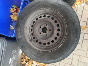All Season Tires with Rims - 195/70/14