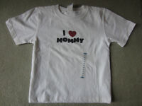 BRAND NEW - I LOVE MOMMY T-SHIRT - SIZE 4T
