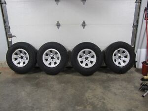"Ford Ranger 15""winter tires and rims.Set of 4."