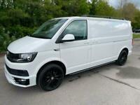 2017 Volkswagen Transporter T6 TDI HIGHLINE LWB IN CANDY WHITE - EURO SIX Van LW