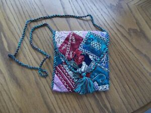 Hand-crafted Patchwork Evening Bag