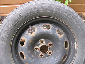 4 - Good Year Eagle Ultra 205 60 R 15 M & S Snow Tires For Sale Kawartha Lakes Peterborough Area image 2
