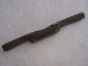 Early Antique 2-handed Scraper Blacksmith made Blade Woodworking