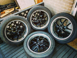"""22 """" INCH RIMS WITH TIRES!! 6x139 or 6x5.5 BOLT PATTERN!!!"""