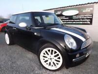 2003 03 MINI HATCH COOPER 1.6 COOPER 3D 114 BHP PETROL BLACK