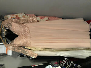 Morilee blush formal dress/bridesmaid dress plus