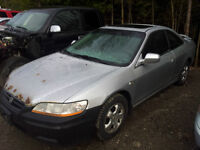 !!! PARTING OUT 2001 HONDA ACCORD 2 DOOR !!!