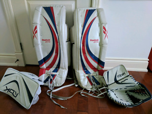 Goalie pads and more! NEED TO GO!!!