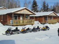 ~OPEN BAY LODGE~Lac des Mille Lacs