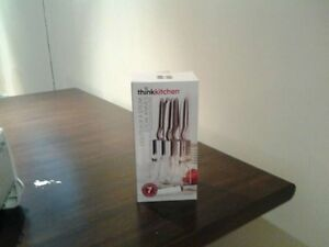 Ensemble de 6 couteaux à steak de marque Think Kitchen