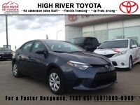 2014 Toyota Corolla LE - LOW KMs  - Certified - Accident Free -