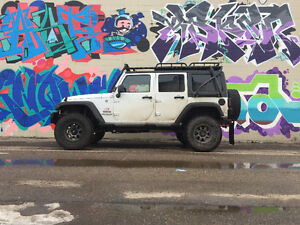 Fully Built 2015 Jeep Wrangler 4 Door