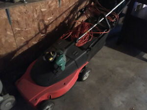 Electric Lawn Mower, Lawn maintenance items