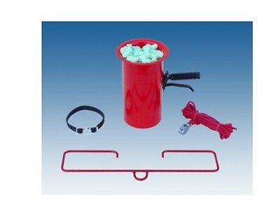 Abfüllvorrichtung Abfülltrichter komplett mit ZUbehör für Verpackungschips