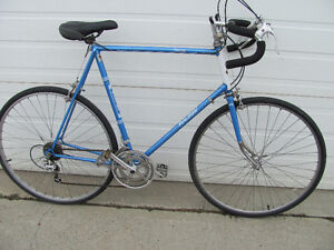 "RALEIGH ""RECORD"" 12 SPEED TALL FRAME ROAD BIKE"