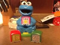 Cookie Monster counting toy