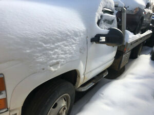 1991 Chevrolet C3500HD Flat Deck Tow Truck