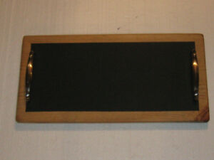 Chalk Board Serving Tray