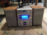 JVC UX-P55 midi Audio Shelf System