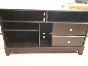 T.V/Media Stand with 2 Drawers