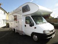 Knaus Sport Traveller Bunk Bed Luxury Motorhome For Sale 3500KG
