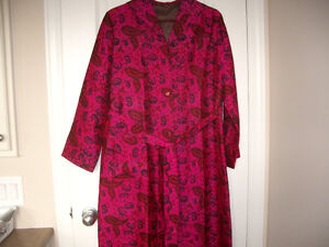 Pure Silk Robe for Ladies - Looks Brand New